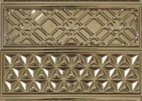Garden Dec Geometry PVD Oro 10х30