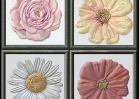 декор Garden Dec Flor Cold 15х15