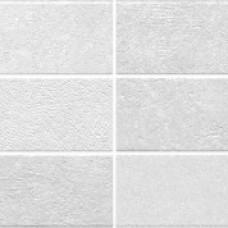 Mosaico Fortis Blanco 25x70