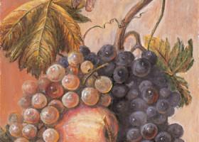 Нефрит-Керамика Декор Виноград 20х30
