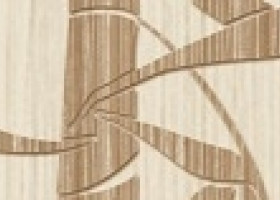 Нефрит-Керамика Бордюр Бамбук Бежевый 6х25