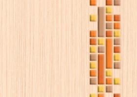 Нефрит-Керамика Декор Кураж оранжевый 25х33