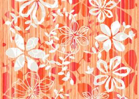 Нефрит-Керамика Декор Кадриль Оранжевый 25х33
