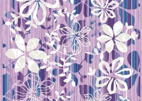 Нефрит-Керамика Декор Кадриль Фиолетовый 25х33