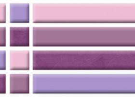 Нефрит-Керамика Бордюр Кураж фиолетовый 6х25