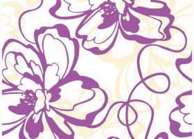 Нефрит-Керамика Вставка Монро Фиолетовый 25х40