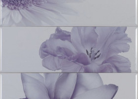 Myr Ceramica Панно Chloe Lila D-930 (3pzs) 75x75