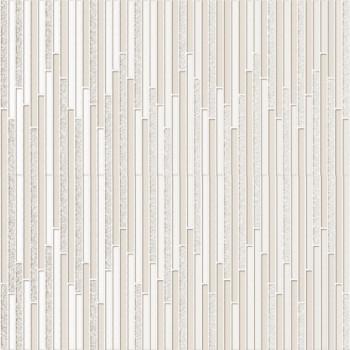 Декор керамический Intuition Shine White (2 pzs) 29x100
