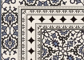 Realonda Декор керамический Orly Deco Esquina 44х44