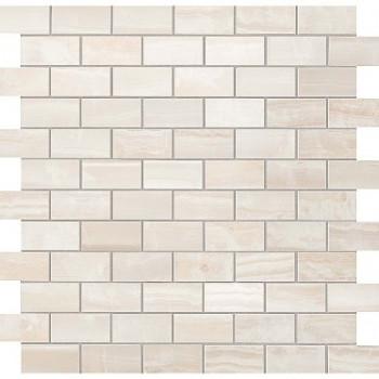 Atlas Concorde Мозаика S.O. Pure White Brick Mosaic 30.5х30.5