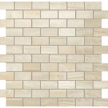 Atlas Concorde Мозаика S.O. Ivory Chiffon Brick Mosaic 30.5х30.5