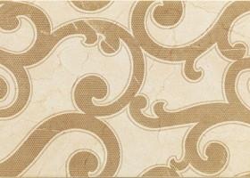 Italon Charme Cream Inserto Jasmine / Шарм Крим Вставка Жасмин 25х75
