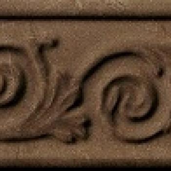 Italon Charme Bronze Listello Desire / Шарм Бронз Бордюр Дизайер 8х25
