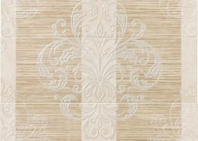 Italon Elite White Inserto Tresor / Элит Уайт Вставка Трезор 7x75 (3 шт. - 25x75)