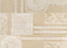 Italon Elite White Inserto Couture / Элит Уайт Вставка Кутюр 7x75 (3 шт. - 25x75)