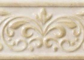 Italon Elite White Listello Natura / Элит Уайт Бордюр Натура 7.5х25