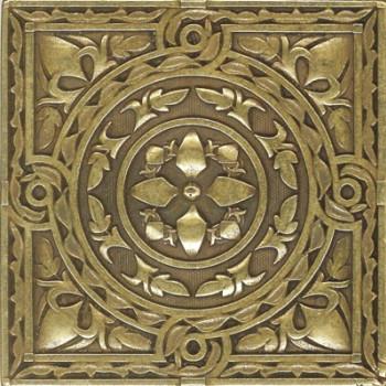 Вставка декоративная Beni-sano Satined brass (бронза сатинированная) 60х60