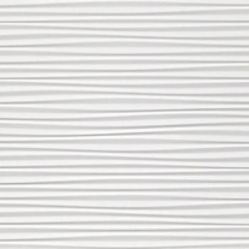 Плитка 3D Flows White Matt