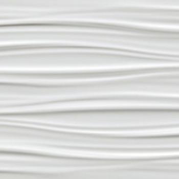 Плитка 3D Ribbon White Matt