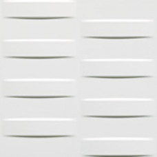 Плитка 3D Grid White Glossy