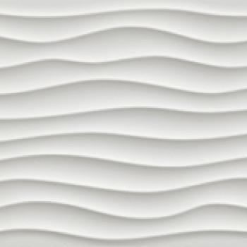 Плитка 3D Dune White Matt
