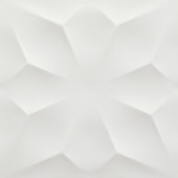 Плитка 3D Diamond White Matt