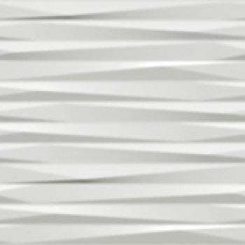 Плитка 3D Blade White Matt