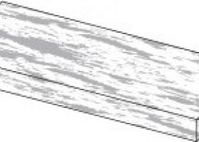 Плитка Atlas Concorde Arkshade White Elemento L Grip