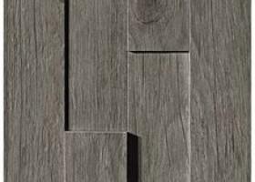 Плитка Axi Grey Timber Brick 3D