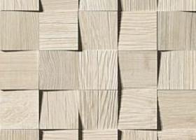 Плитка Axi White Pine Mosaico 3D