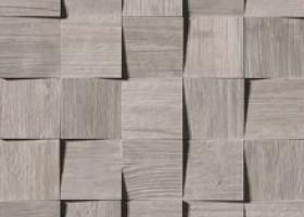 Плитка Axi Silver Fir Mosaico 3D
