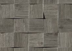 Плитка Axi Grey Timber Mosaico 3D