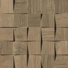 Плитка Axi Brown Chestnut Mosaico 3D
