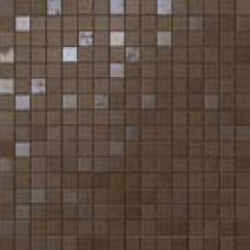 Плитка Dwell Brown Leather Mosaico Q