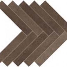 Плитка Dwell Brown Leather Herringbone