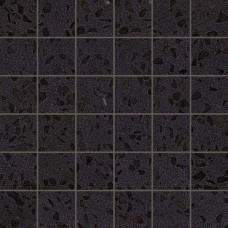 Плитка Marvel Gems Terrazzo Black Mosaico Lappato