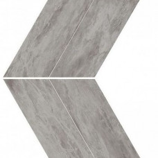 Плитка Marvel Stone Bardiglio Grey Chevron Lappato